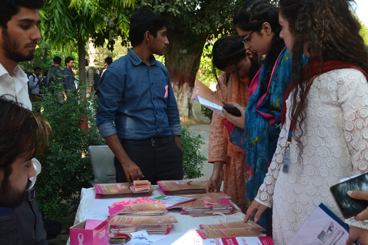Youth Engagement Pink Ribbon